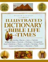 Illustrated Dictionary of Bible Life & Times