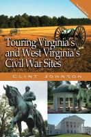 Touring Virginia's and West Virginia's Civil War Sites