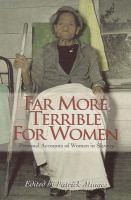 Far More Terrible for Women