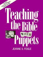 Teaching the Bible With Puppets