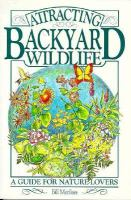 Attracting Backyard Wildlife