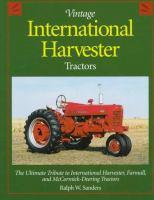 Vintage International Harvester Tractors