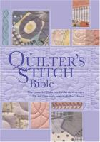 The Quilters Stitch Bible