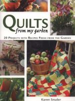 Quilts From My Garden