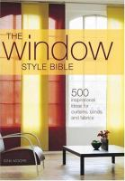 The Window Style Bible