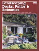Landscaping Decks, Patios & Balconies
