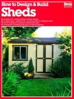 How to Design & Build Sheds