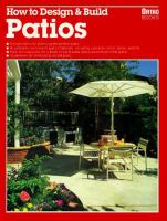 How to Design & Build Patios