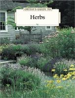 Ortho's Guide to Herbs