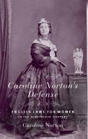 Caroline Norton's Defense
