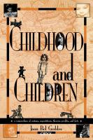 Childhood and Children