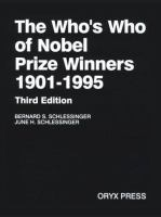 The Who's Who of Nobel Prize Winners, 1901-1995