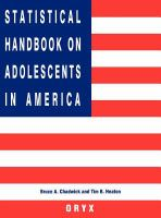 Statistical Handbook on Adolescents in America