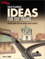Track Planning Ideas for Toy Trains