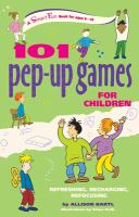 101 Pep-up Games for Children