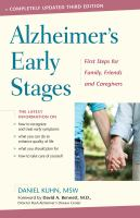 Alzheimer's Early Stages