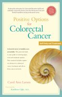Positive Options for Colorectal Cancer