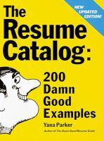 The Resume Catalog