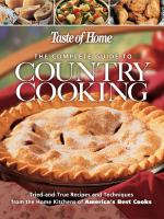 The Complete Guide to Country Cooking