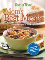 Mom's Best Meals