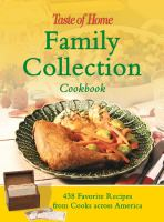 Taste of Home's Family Collection Cookbook