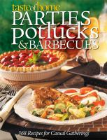 Parties, Potlucks & Barbecues