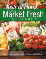 Market Fresh Cookbook Softcover
