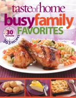Taste of Home Busy Family Favorites