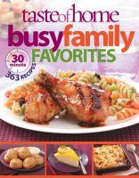 Taste of Home Busy Family Favorites