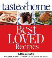 Taste of Home Best Loved Recipes