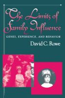 The Limits of Family Influence