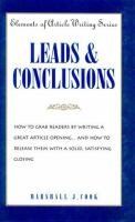 Leads And Conclusions