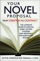 Your Novel Proposal