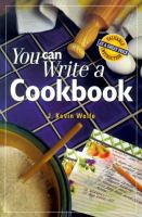 You Can Write A Cookbook