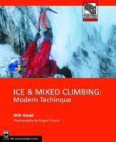 Ice & Mixed Climbing
