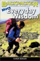 More Everyday Wisdom