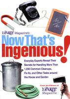 Yankee Magazine's Now That's Ingenious!