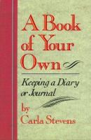 A Book of your Own