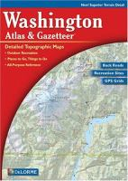 Washington Atlas & Gazetteer