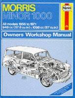 MORRIS MINOR 1000 OWNERS WORKSHOP MANUAL, 1956-71