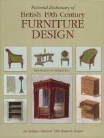 Pictorial Dictionary of British 19th Century Furniture Design