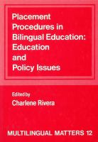 Placement Procedures in Bilingual Education