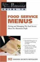 Food Service Menus