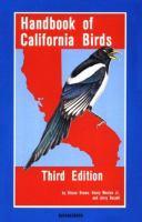 Handbook of California Birds
