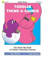 Toddler Theme-a-saurus