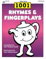 1001 Rhymes & Fingerplays