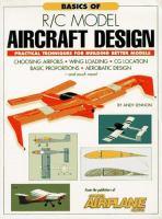 Basics of R/C Model Aircraft Design