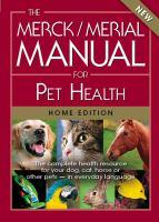 The Merck/Merial Manual for Pet Health