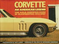 Corvette, An American Legend