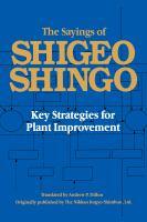 The Sayings of Shigeo Shingo